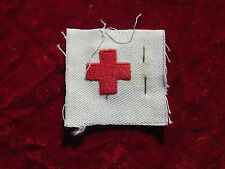 US Navy Nurse Medic Red Cross Distinguishing Mark Striker Pharmacist Mate / tag