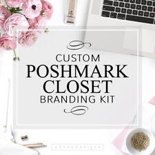 POSHMARK CLOSET Branding Kit | Poshmark Seller Custom Logo & Posh Closet Banner