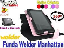 "FUNDA TABLET WOLDER MANHATTAN 7"" UNIVERSAL BARATA Alcampo MANHATAN"