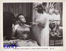 John Lund barechested, Wanda Hendrix MCA TV VINTAGE Pho Miss Tatlock's Millions