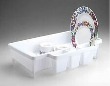RUBBERMAID 8354-00 SPACE SAVER DISH DRAINER RACK NEW WHITE HARD TO FIND!