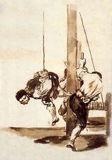 Goya Drawings: Injustice & Oppression: 3 Art Prints