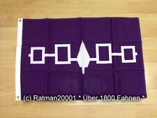 Fahnen Flagge USA Irokesen Bund - 60 x 90 cm