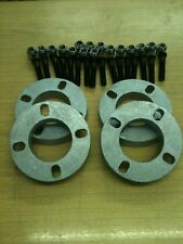 FORD 4 stud wheel spacer KIT,10 mm lunga borchie & dadi