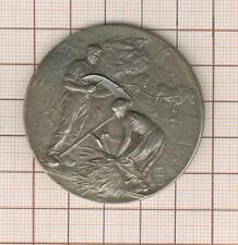 jolie scène rurale médaille argent par Rivet, don de 10000f Indre et Loire? 1917