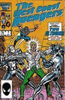 West Coast Avengers Comic 7 Copper Age First Print 1986 Steve Englehart Marvel