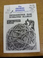 Dec-1990 Chesterfield: The Crooked Spireite  No.25 - Independent Football Magazi