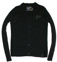 G-Star Pullover Sweater Strickjacke Cardigen Mit Wolle Schwarz Black Gr. L