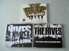 THE HIVES job lot of 3 promo CDs A Little More For Little You Tick Tick Boom