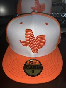 WHATABURGER CORPUS CHRISTI HOOKS CAP HAT SGA NEW ERA 59FIFTY ASTROS SIZE 8 RARE