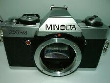 Minolta xga 35mm slr camera body untested parts (d-33)