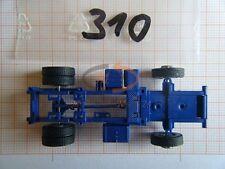 2 x ALBEDO Ersatzteil Ladegut Chassis LKW MAN Solozugmaschine H0 1:87 - 0310