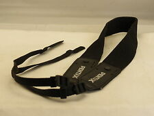 "Black Pentax Neck Shoulder Camera Strap 48"" Long 1 1/2"" Wide"
