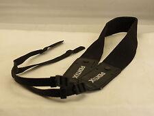"""Black Pentax Neck Shoulder Camera Strap 48"""" Long 1 1/2"""" Wide"""