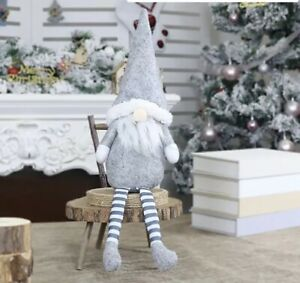 Handmade Large Santa Gnomes Gonks Decorations Teddy Doll Christmas Gift 43x12cm