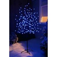 Multi Colour LED Lights Christmas Xmas Cherry Blossom Tree Indoor Or Outdoor 5ft