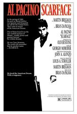 "SCARFACE (1983) Movie Poster [Licensed-New-USA] 27x40"" Theater Size (Al Pacino)"