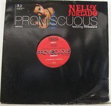 "NELLY FURTADO PROMISCUOUS REMIXES FEATURING TIMBALAND 12"" MAXI SINGLE (i88)"
