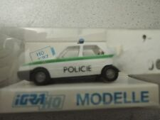 Rietze Igra 626 Skoda Favorit Pollizei Tcheschien OVP aus Polizei-Sammlung (*4)