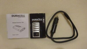 Duracell Pocket Inverter 175 AC 2.1 Amp for USB Devices-Car Electronic Accessory