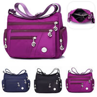 Women Waterproof Nylon Shoulder Bag Lady Travel  Messenger Handbag Tote  !