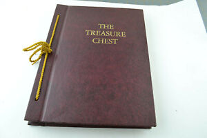 The Treasure Chest Book by Charles L. Wallis 1965 Hardcover Inspirational Poems