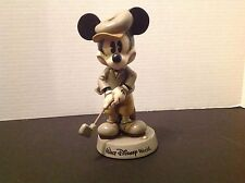 Vintage Disney Micky Mouse Golfing Collectible Figurine