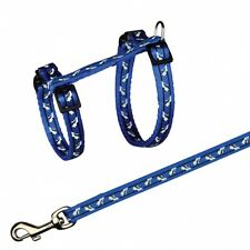 Trixie Nylon Cat Harness With Lead Assorted Colours 4142
