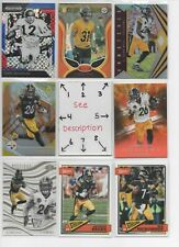 Pittsburgh Steelers ** SERIAL #'d Rookies Autos Jerseys ALL CARDS ARE GOOD CARDS