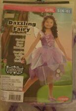 Dazzling Fairy Light-Up Girl's Halloween Dress-Up Costume Purple Small (4-6)