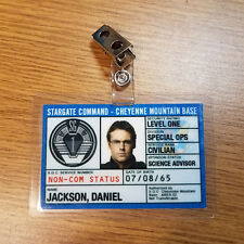 Stargate Command SG-1 ID Badge-Daniel Jackson cosplay prop costume