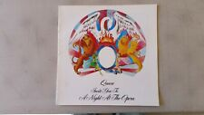 Queen Invite You To A Night At The Opera 1976 Official Program Tourbook
