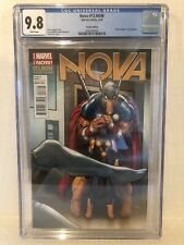 Nova 13 Variant Edition CGC 9.8 Marvel The Graduate Cover Homage Beta Ray Bill