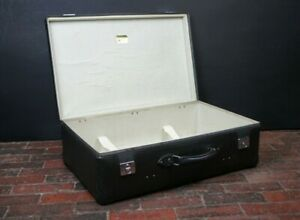 Globe Trotter Suitcase Grey & Chrome Locks Made In England