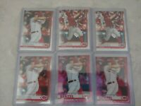 2019 Topps Chrome Update Nick Senzel RC Rookie LOT 2 pink refractors ,Reds