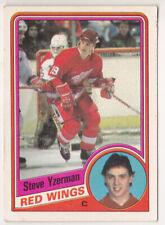 84-85 OPC Steve Yzerman Rookie O-Pee-Chee Red Wings 1984