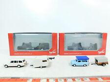 AX754-0,5# 2x Herpa H0 (1:87) Auto+Anhänger: 024280 Trabant+024426 Wartburg OVP