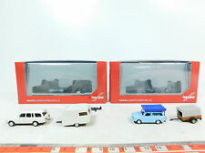 AX754-0,5# 2x Herpa H0 (1:87) Auto+Remorque : 024280 Trabant+024426 Wartburg