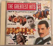 Taylor Dayne Greatest Hits 3 1993 CD Freddie Mercury SWV REM Ace Of Base Kim Wil