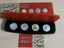 "Australien Lunar Type Set 2012 "" Jahr des Drachen"""