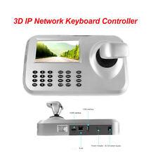 CCTV 3D Joystick Keyboard Controller 5 Inch LCD Screen Onvif 2.4 For Speed PTZ