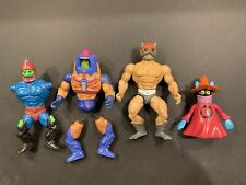 MOTU Vintage Lot Of 4 (2 Broke) - He-Man Zodiac Trap Jaw And More