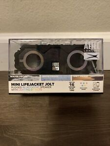 Altec Lansing Mini LifeJacket Jolt Portable Bluetooth Speaker with Lights, Black