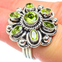 Large Peridot 925 Sterling Silver Ring Size 6 Ana Co Jewelry R52567F