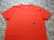 Large- NWOT Hollister Orange T- Shirt