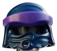 Lego Kappe in dunkelblau Helm Tuch Ninjago für Minifiguren 20568pb01 Neu