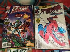 Spider-Man Adventures #1-Avengers United we Stand #1-4 F-VF