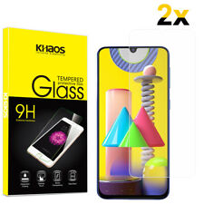 2-Pack Khaos For Samsung Galaxy M31/M21/A31 Tempered Glass Screen Protector