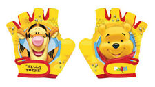 Disney WINNIE THE POOH Kids Bike Cycle Padded Gloves Half Finger Bicycle Size S