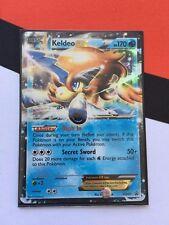 Pokemon Keldeo EX BW61